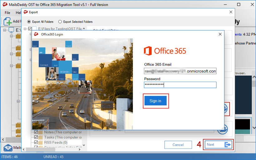Office 365 Step 4